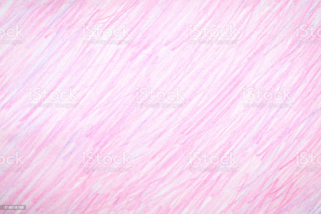 Pink crayon colored background. stock photo