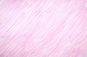 Pink crayon colored background.