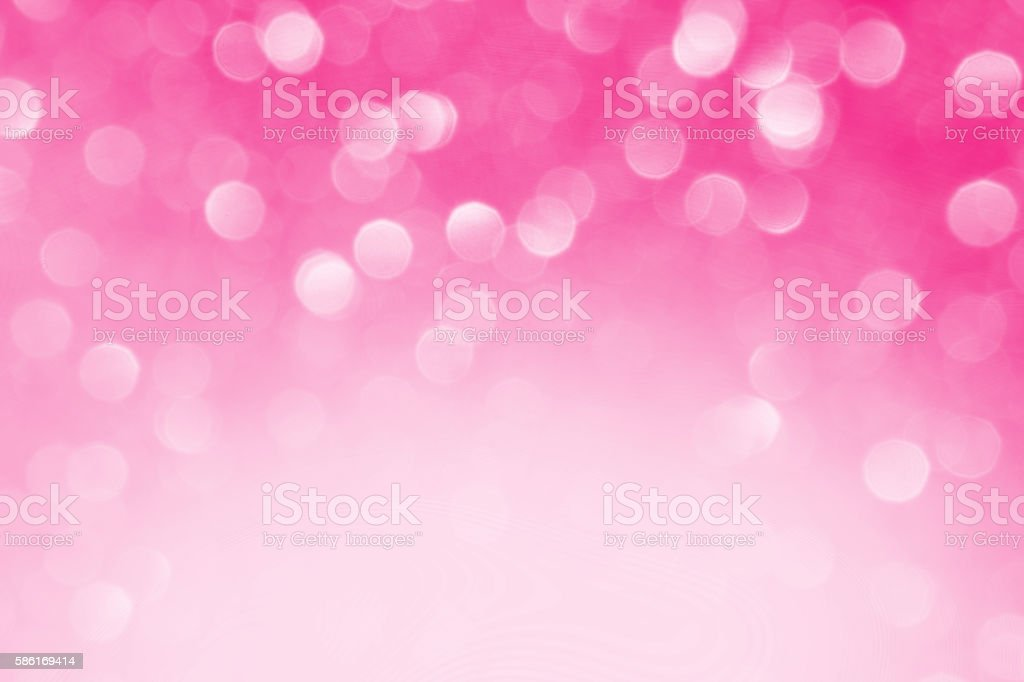 Pink Defocused Lights Background stock photo