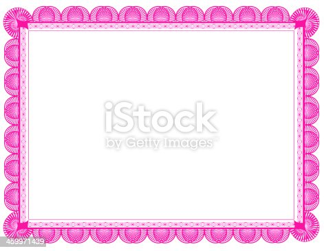 pink document frame 85 x 11 stock photo 459971439 istock
