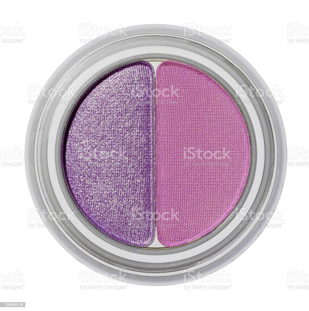 Pink eye shadow royalty-free stock photo