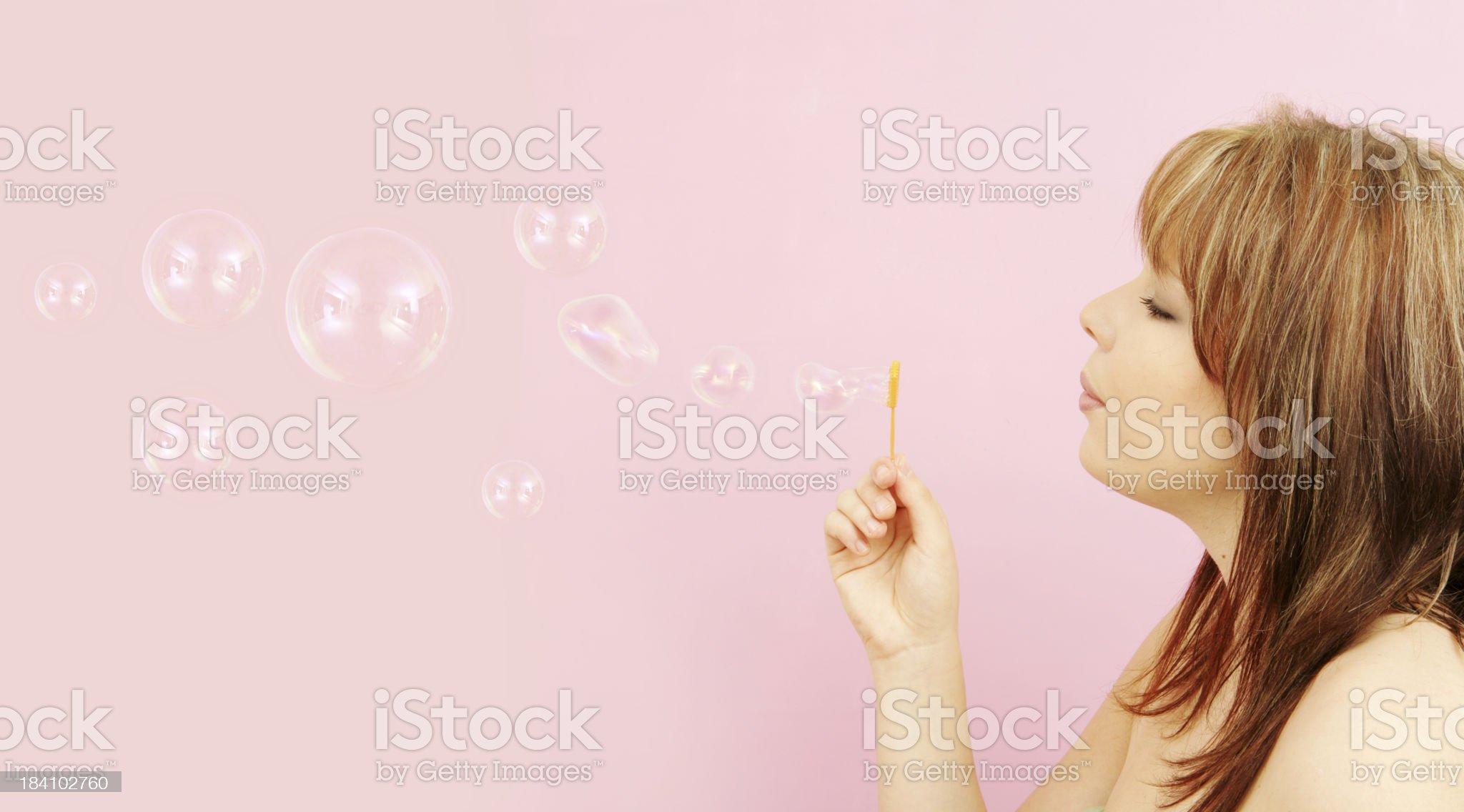 Pink Fantasy royalty-free stock photo