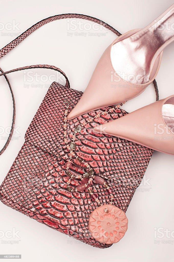 Pink Fashion stock photo