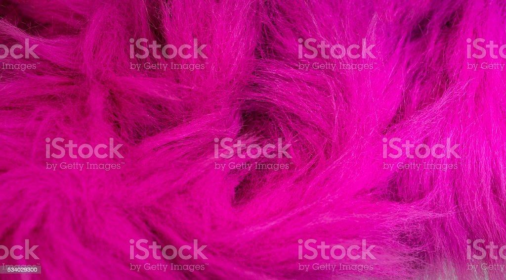 Pink Faux fur stock photo