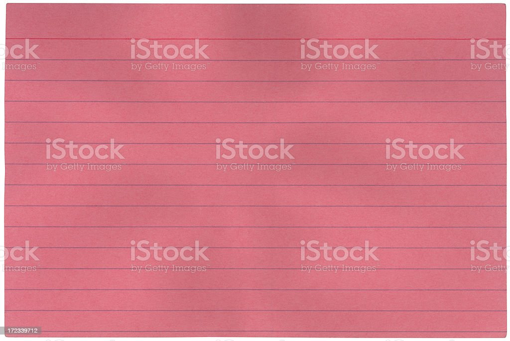 pink file card royalty-free stock photo