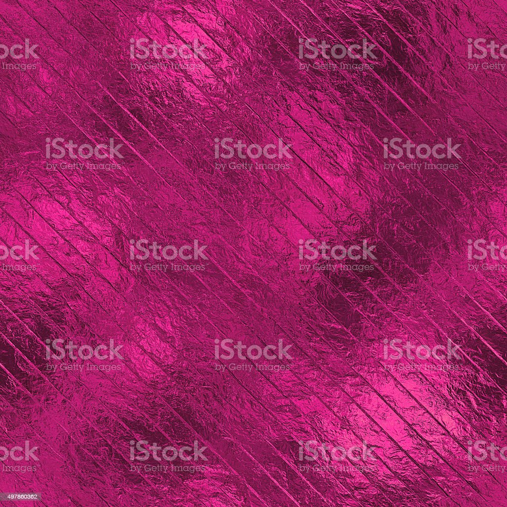 Pink Foil Seamless and Tileable Background HD Texture. stock photo