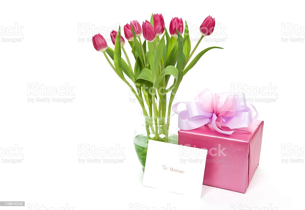 Pink for Mother's Day royalty-free stock photo