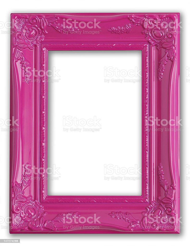 Pink frame royalty-free stock photo