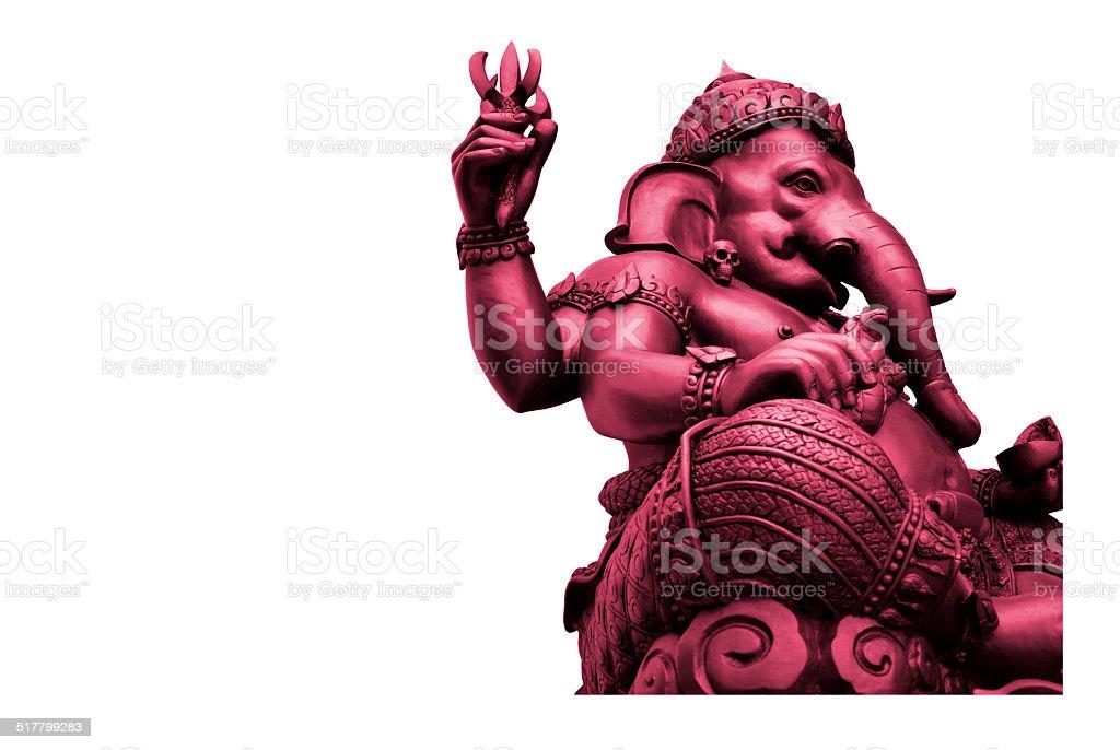 Pink Ganesha, God of Hindu royalty-free stock photo