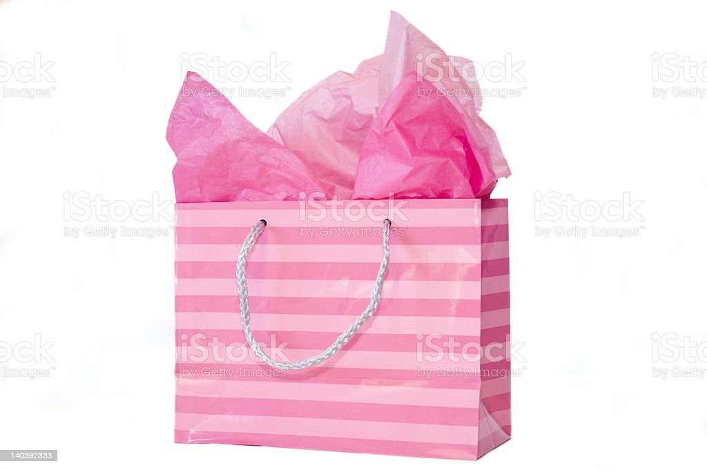 Pink Gift royalty-free stock photo