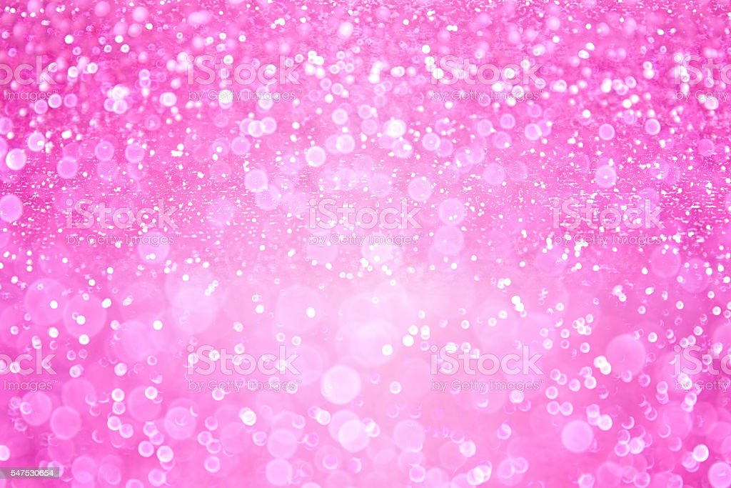 Pink Girl Princess Confetti Background stock photo