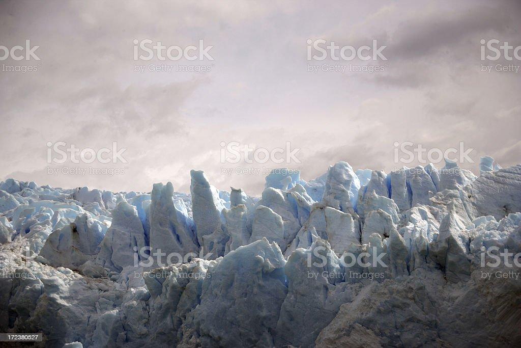 Pink Glacier royalty-free stock photo