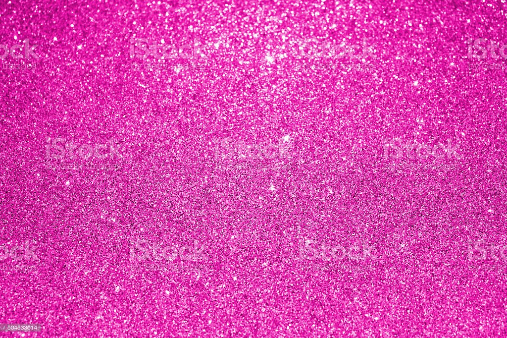 Pink glitter background stock photo