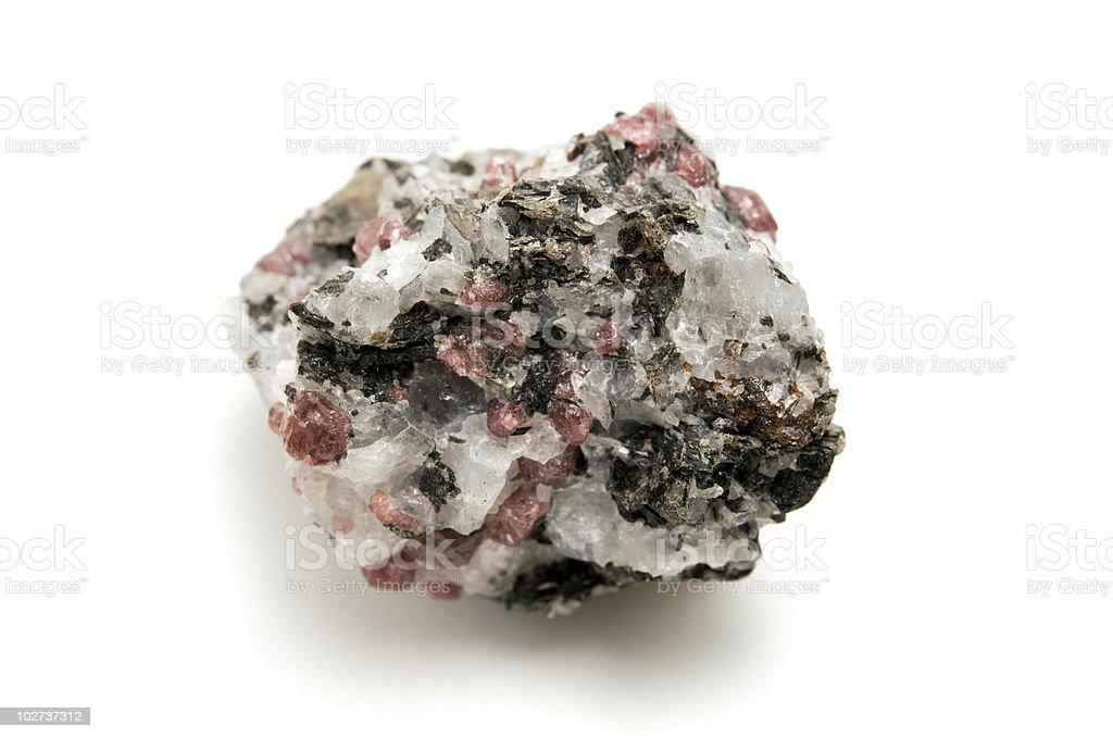 Pink Granite stock photo