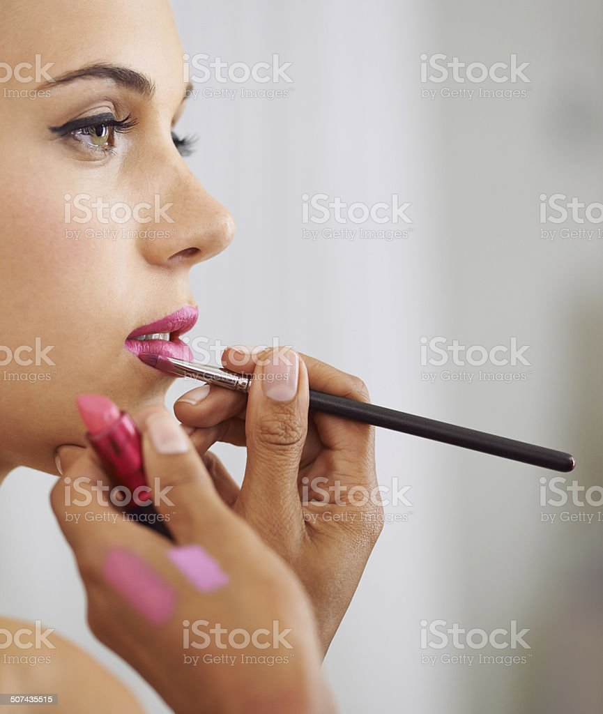 Pink happiness! stock photo