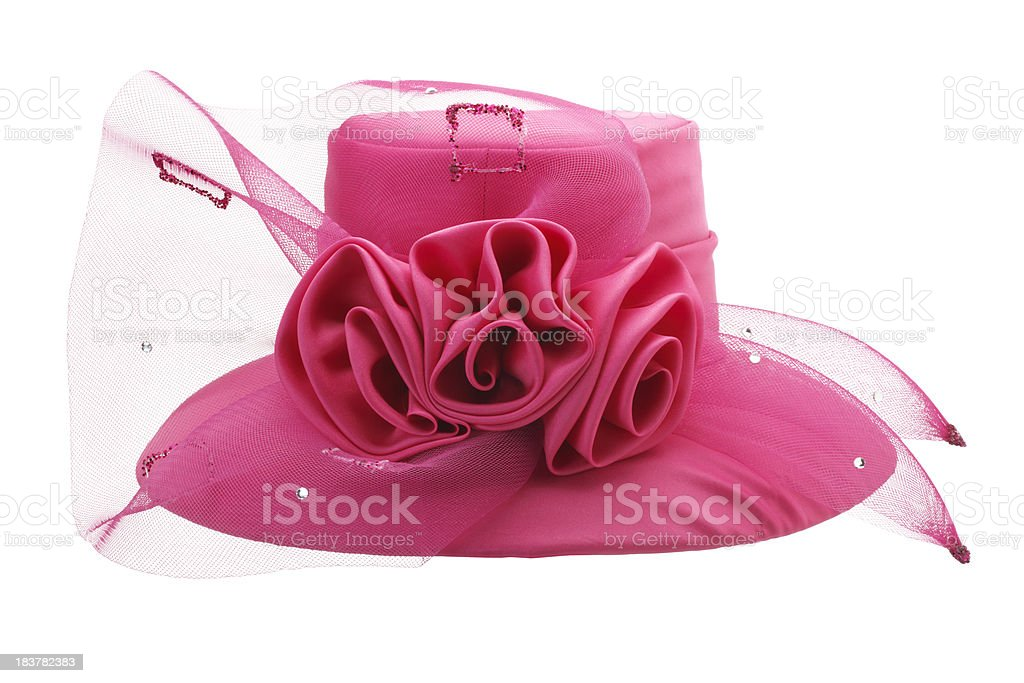 Pink Hat stock photo