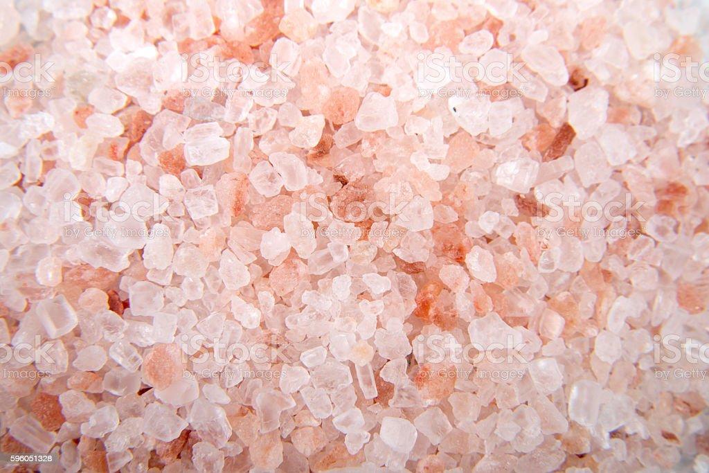 Pink Himalayan Salt stock photo