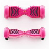 Pink hoverboard