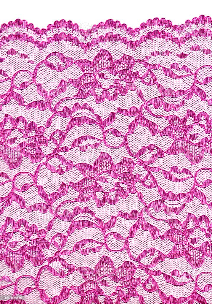 Pink Lace 1 royalty-free stock photo