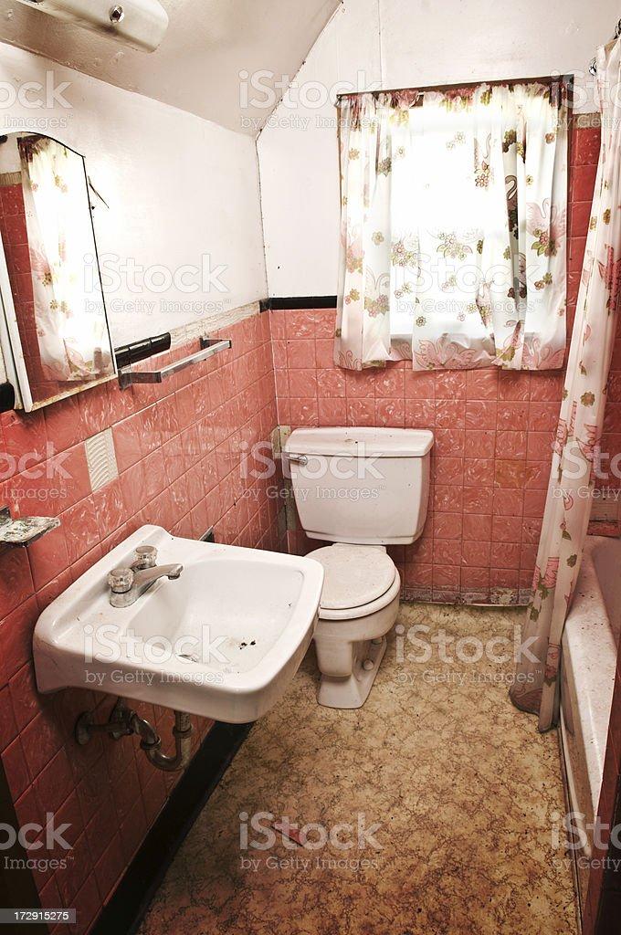 Pink Lavatory royalty-free stock photo