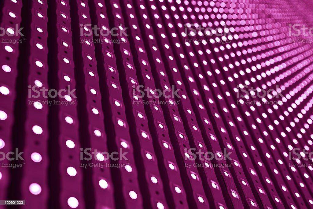 LED pink lights. royalty-free stock photo