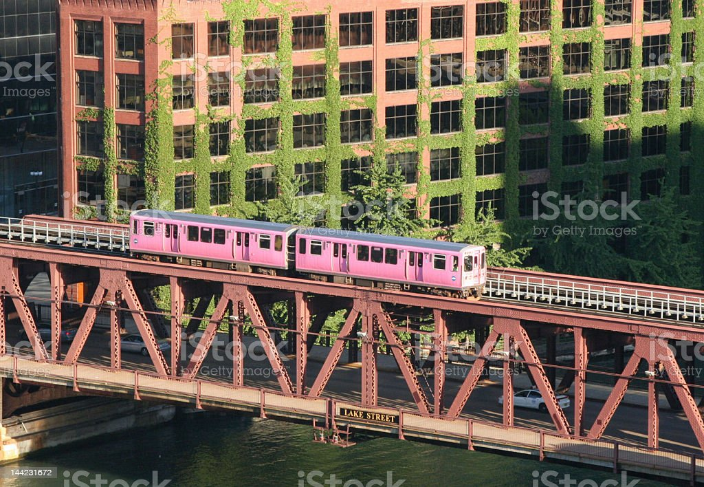 Pink Line royalty-free stock photo
