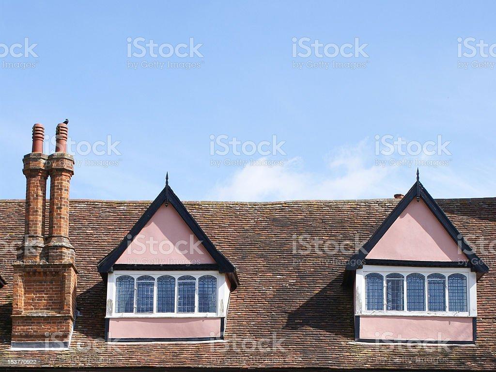 Pink lofts royalty-free stock photo