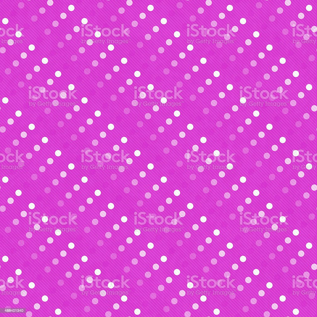 Pink Multicolored and White Polka Dot  Abstract Design Tile Patt stock photo