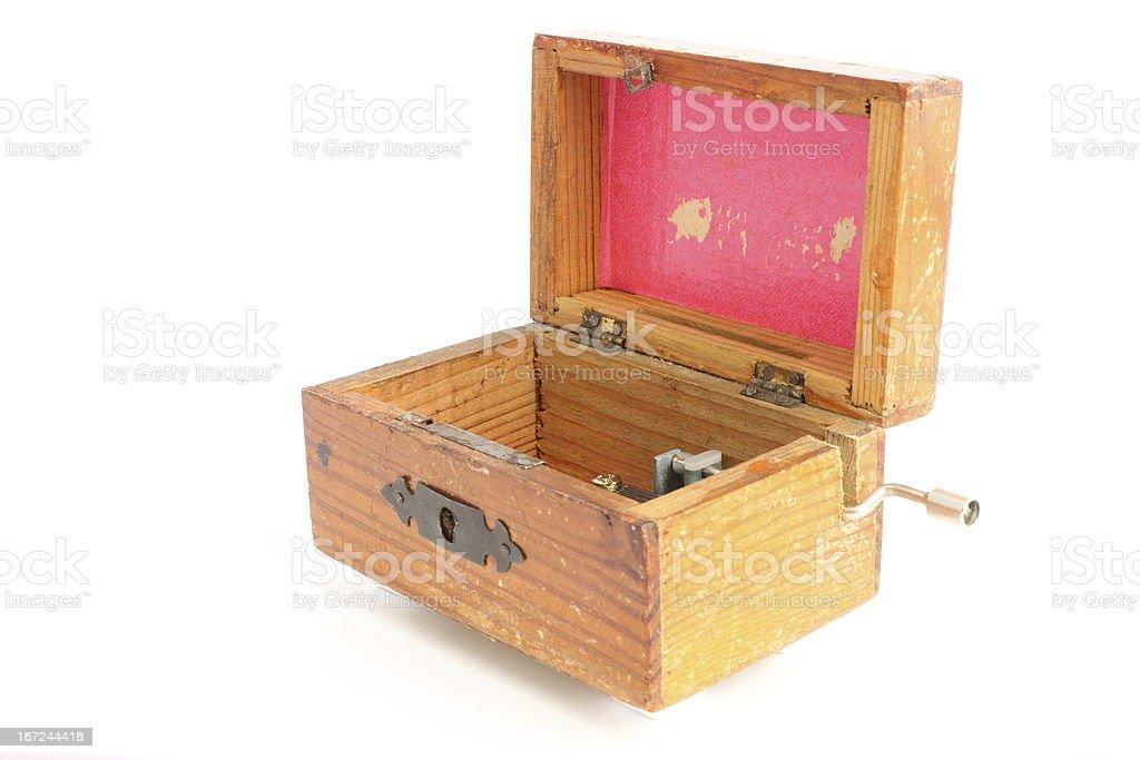 Pink music box stock photo