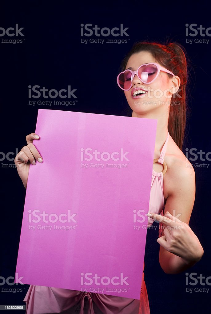 Pink News royalty-free stock photo