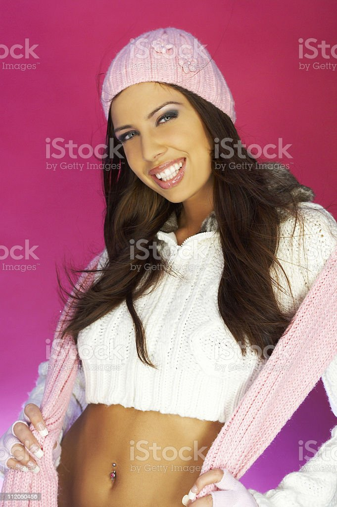 Pink One stock photo