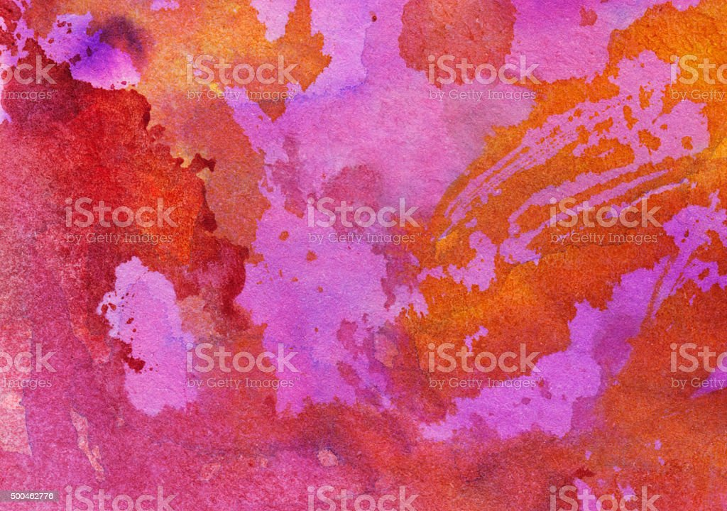 Pink orange and red textured background on paper vector art illustration