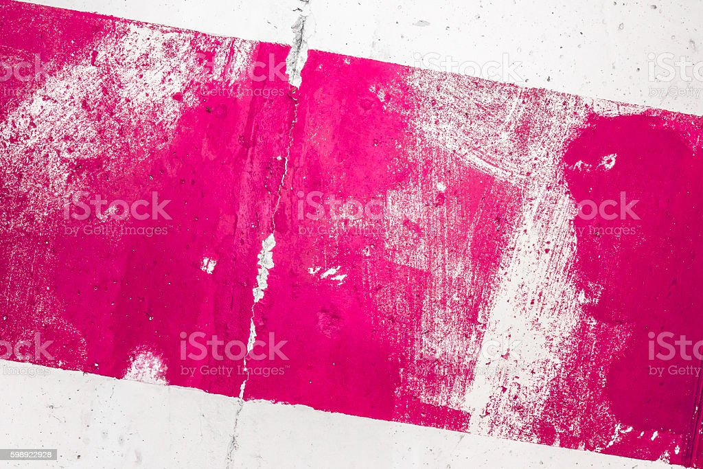 Pink painted grunge texture stock photo