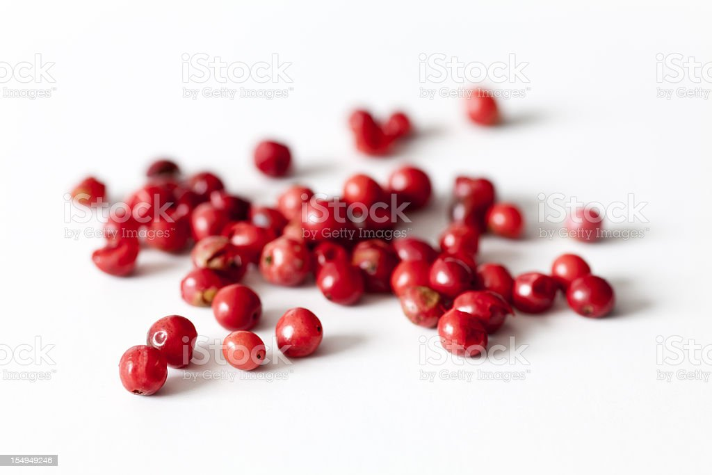 pink peppercorns royalty-free stock photo
