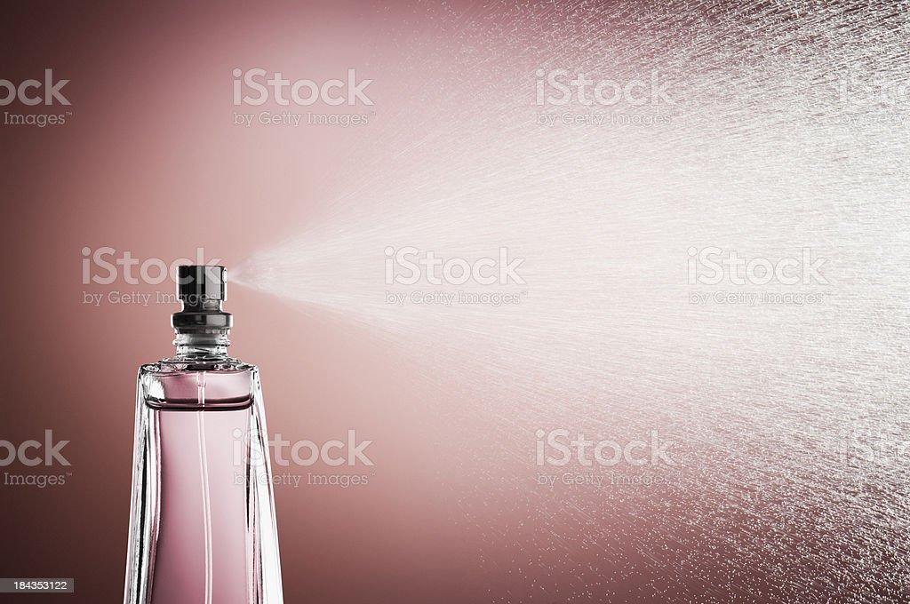 Pink Perfume stock photo
