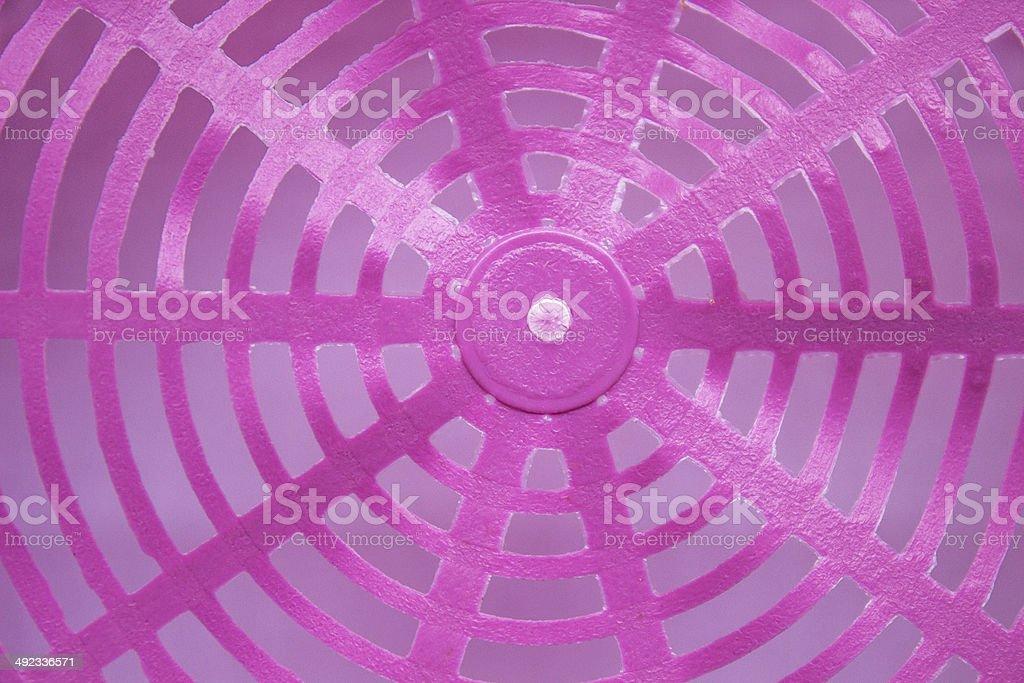 pink plastic basket royalty-free stock photo