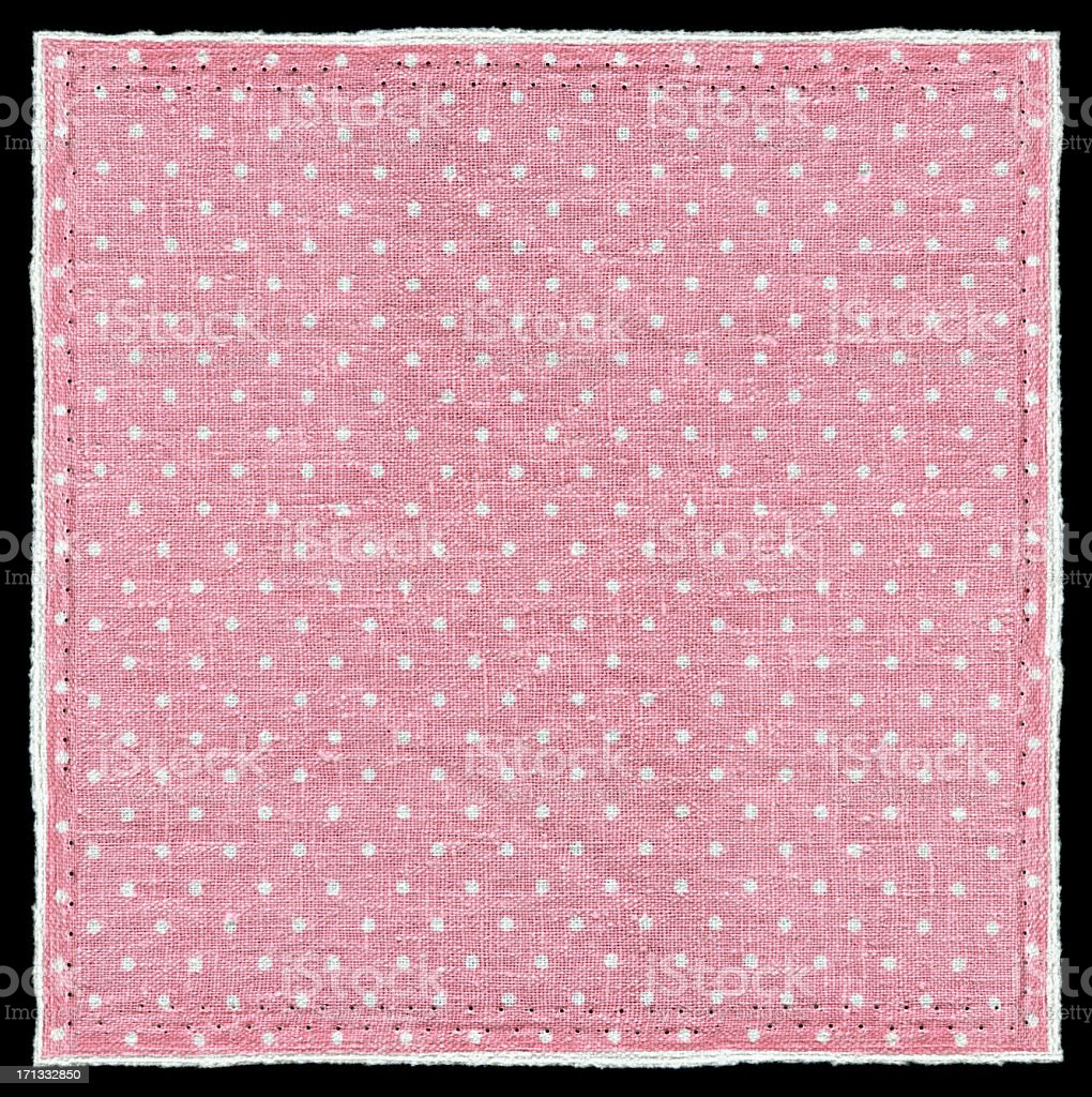 Pink Polka Dots background textured royalty-free stock photo