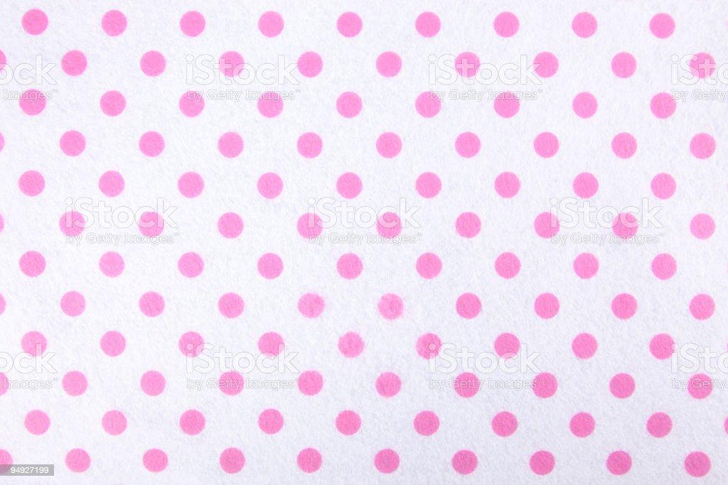 pink polka dots royalty-free stock photo