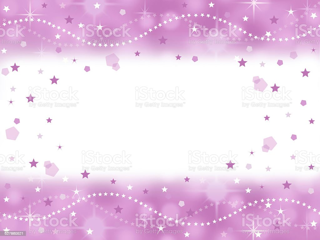 pink princess bling party background with blank space stock photo