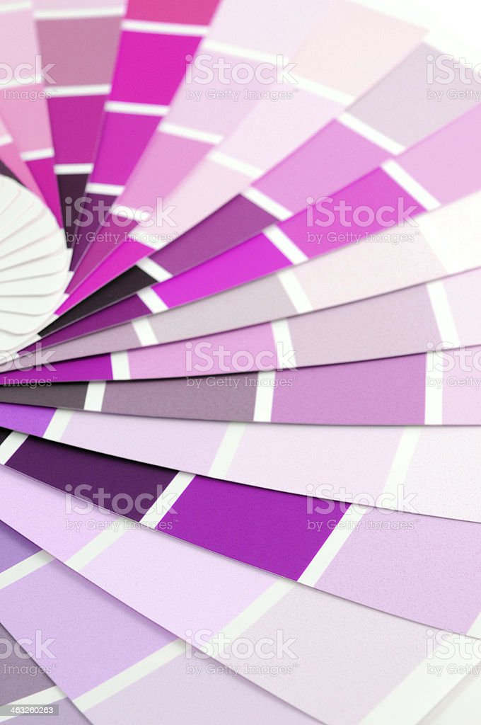 pink purple color swatch royalty-free stock photo