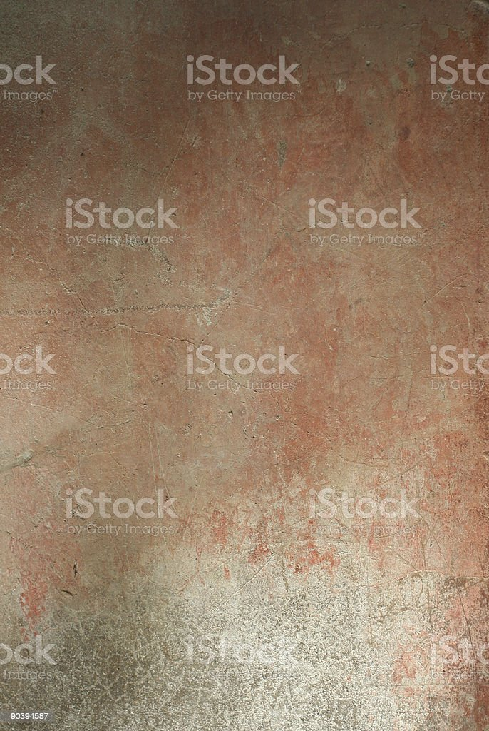 Pink red grunge Roman wall texture royalty-free stock photo