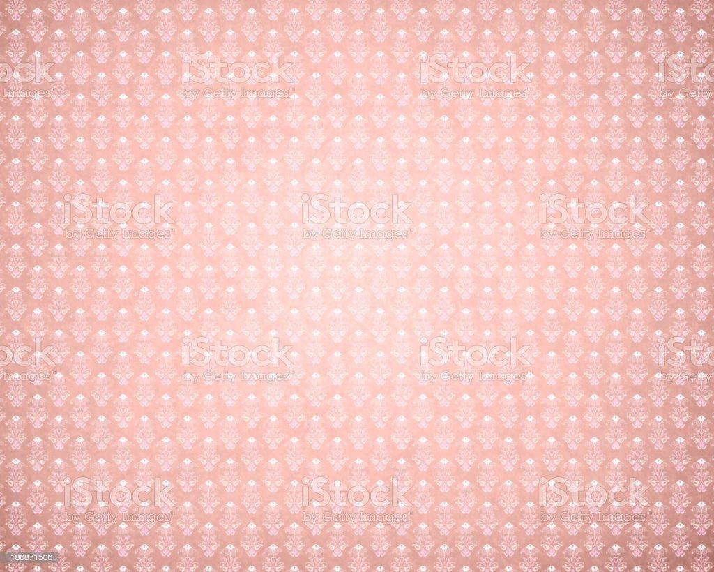 Pink Retro Wallpaper royalty-free stock photo