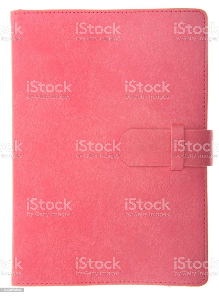 Pink Ring Binder Organizer - Girl Power stock photo