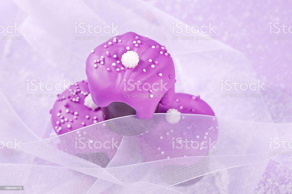 pink romantic chocolate dessert royalty-free stock photo
