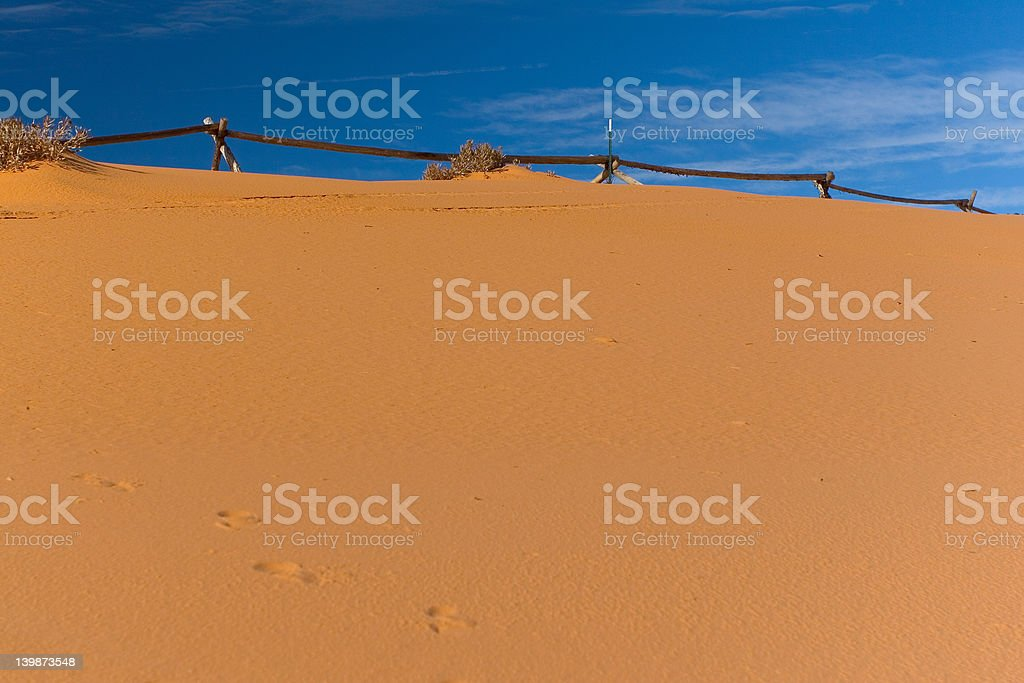 Pink Sand stock photo