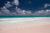 Pink Sands Beach at Harbour Island Bahamas