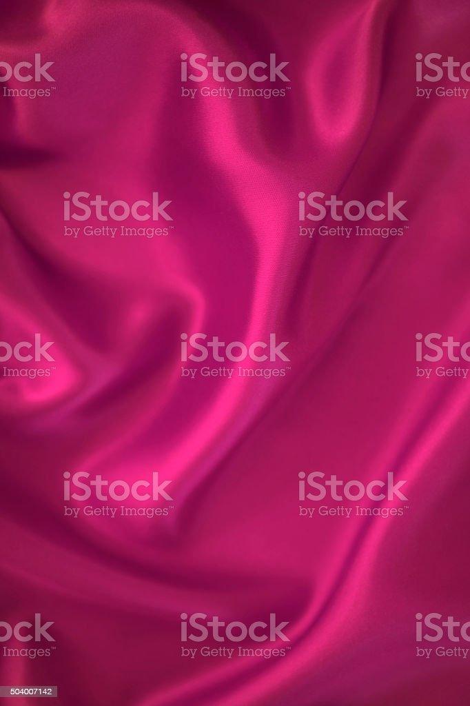 Pink satin background stock photo