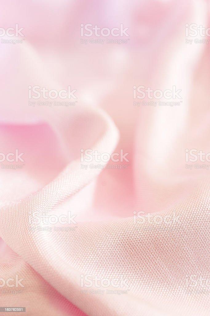 Pink satin royalty-free stock photo