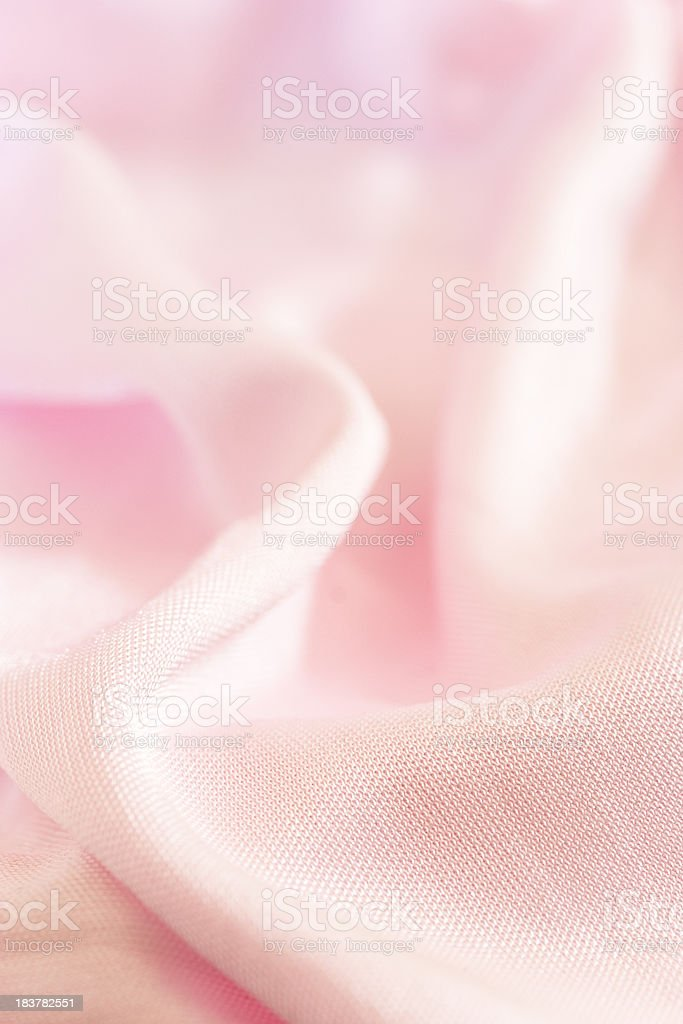 Pink satin stock photo