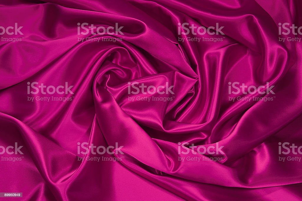 Pink Satin/Silk Fabric 1 royalty-free stock photo
